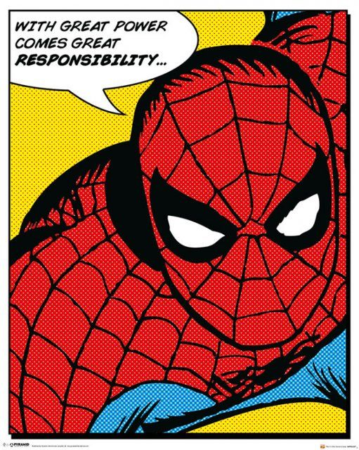 spiderman-quote-mini-poster.-pop-art.-with-great-power-comes-great-responsibility-4841-p
