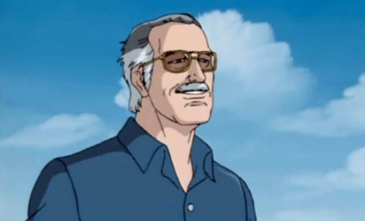stan lee cartoon