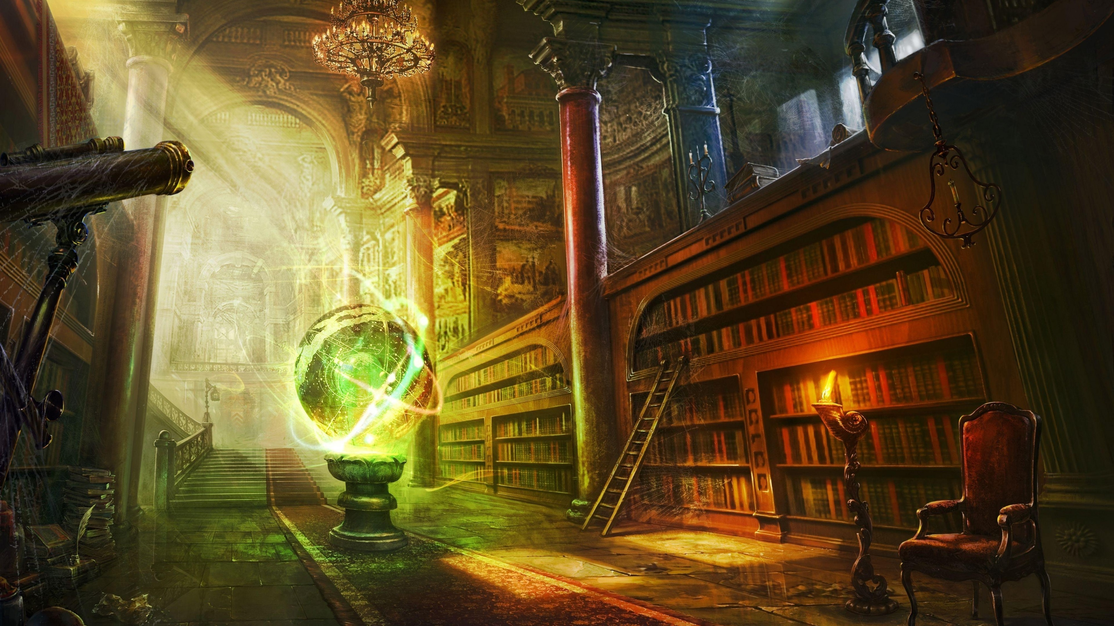 fantasy-room-magical-library-castle-sunlight